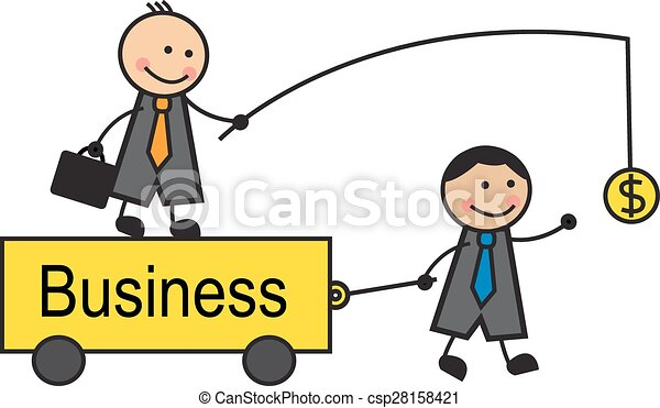 motivation in business head is on the trolley and holds the rh canstockphoto com motivational clipart motivational clip art free