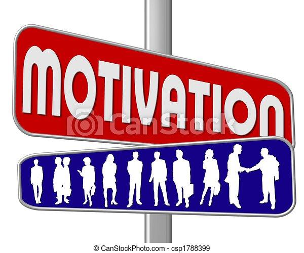 motivation, straßenschild - csp1788399