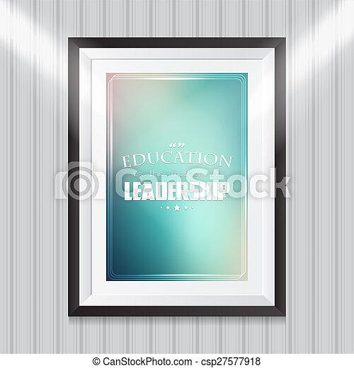 Motivational poster - csp27577918