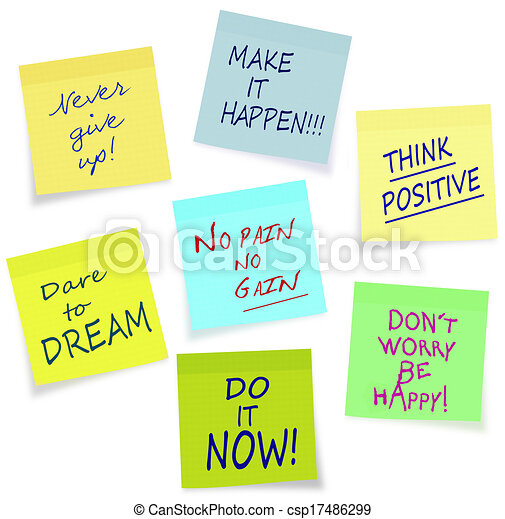 Motivational Slogans Business Private Lifestyle Assorted Sticky Simple Motivational Slogans