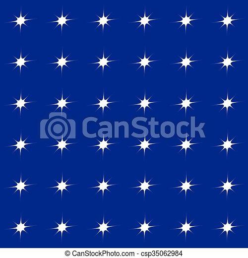 Patrón de colores sin costura, fondo con forma simple de motivo - csp35062984