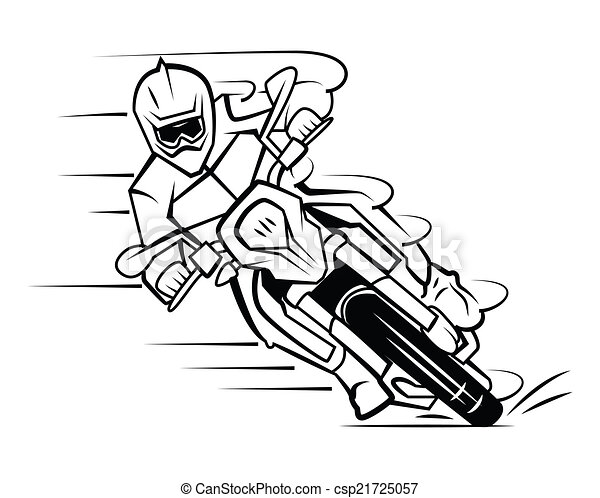 motocross - csp21725057