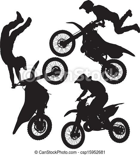 Motocross Jump - csp15952681