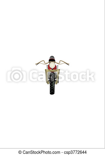 motocyclette - csp3772644