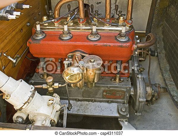 motor, årgång bil - csp4311037