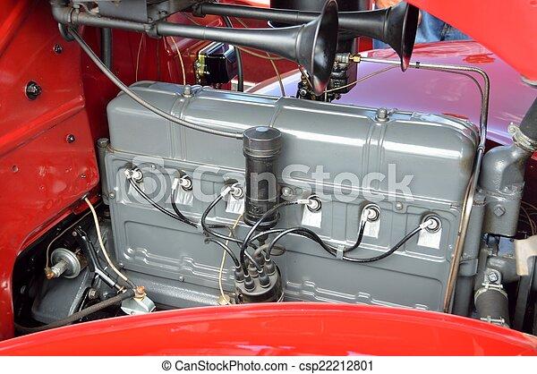 motor, årgång bil - csp22212801