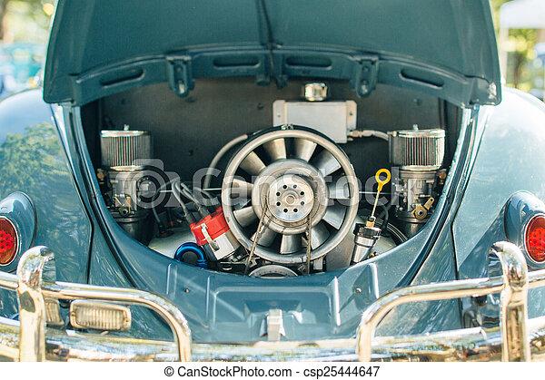 motor, årgång bil - csp25444647