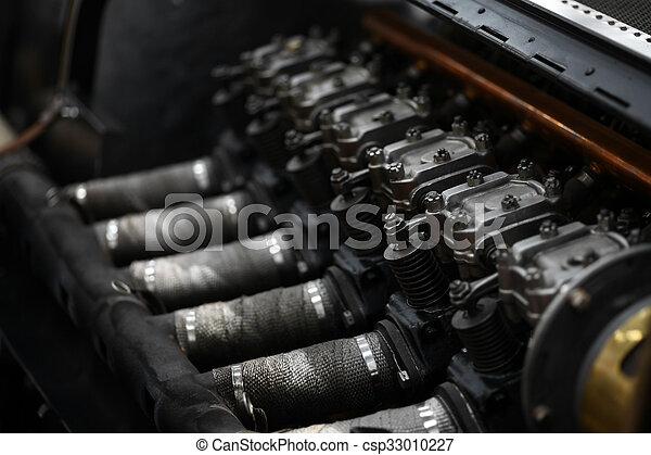 motor, årgång bil - csp33010227