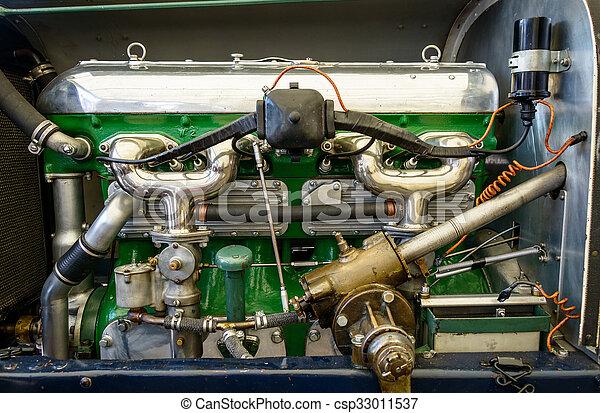 motor, årgång bil - csp33011537