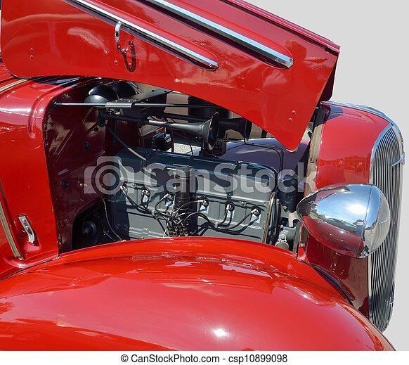 motor, årgång bil - csp10899098