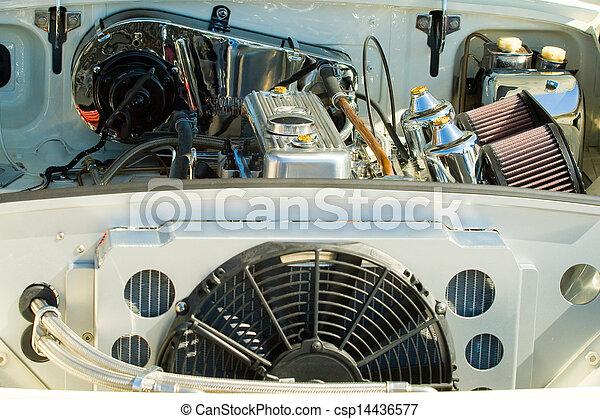 motor, årgång, specificera, bil - csp14436577