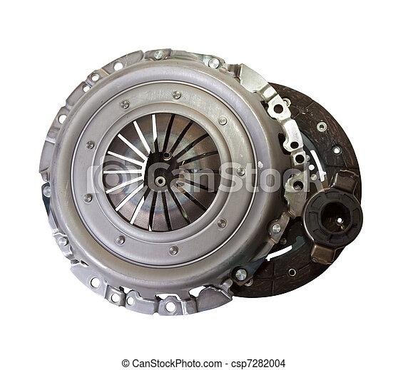 motor, automobil, -, dele, automobilistisk, clutch - csp7282004