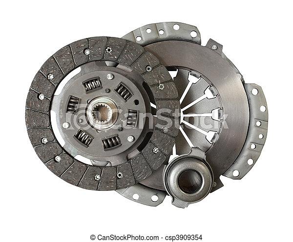 motor, automobilen, clutch - csp3909354
