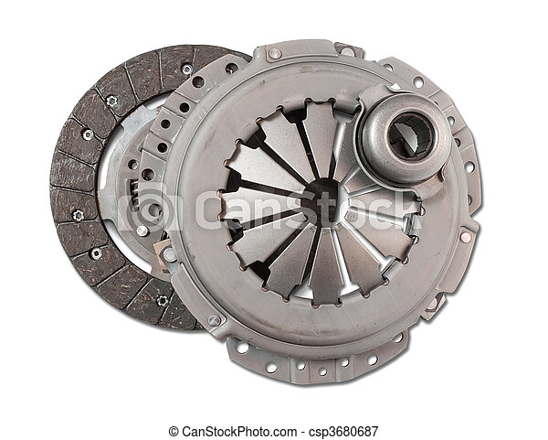 motor, automobilistisk, automobil, part., clutch - csp3680687