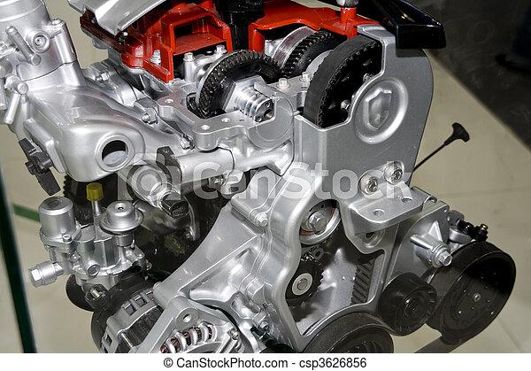 motor, bil - csp3626856