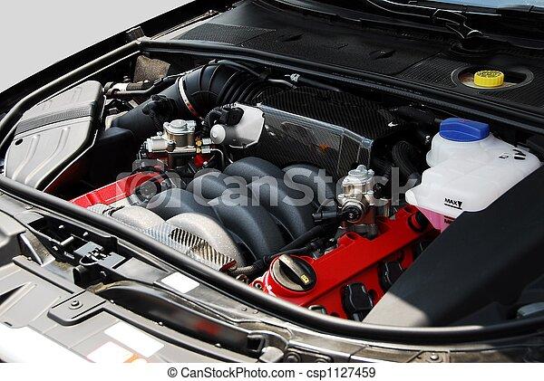 motor, bil - csp1127459