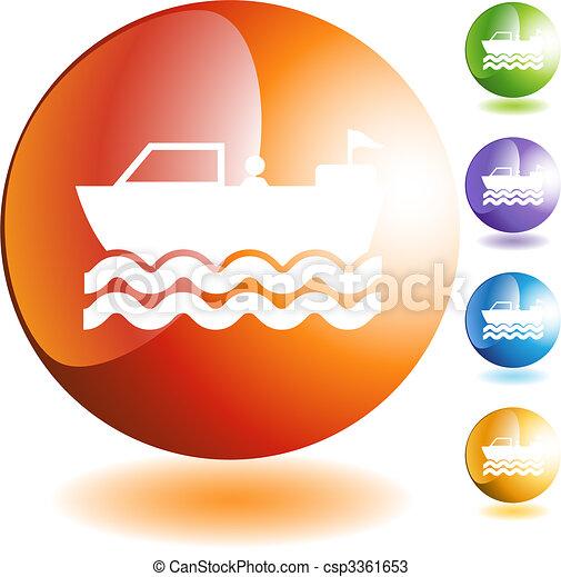 Motor Boat - csp3361653