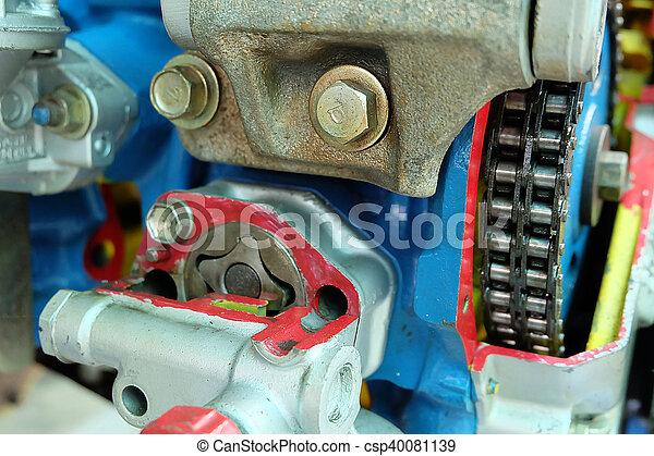 motor, car, sistema - csp40081139