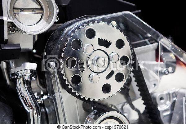 Motor de coche - csp1370621