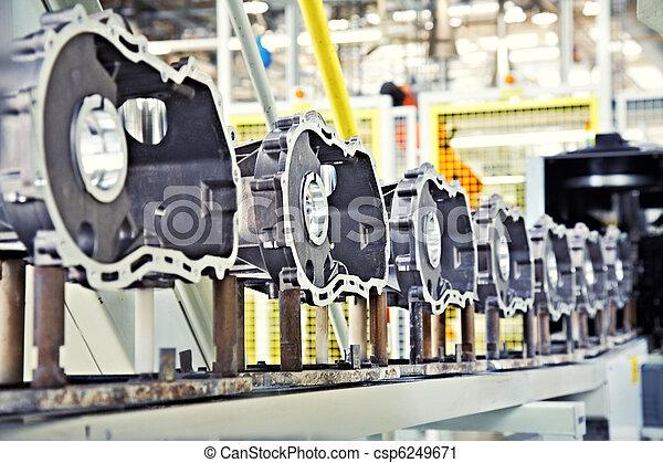 motor, fabricando, partes - csp6249671