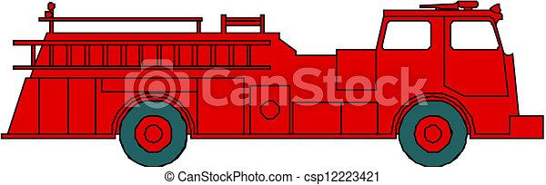 Motor de fuego - csp12223421