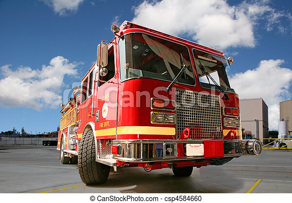Motor de fuego rojo - csp4584660