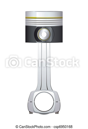 Un pistón de motor - csp6950168