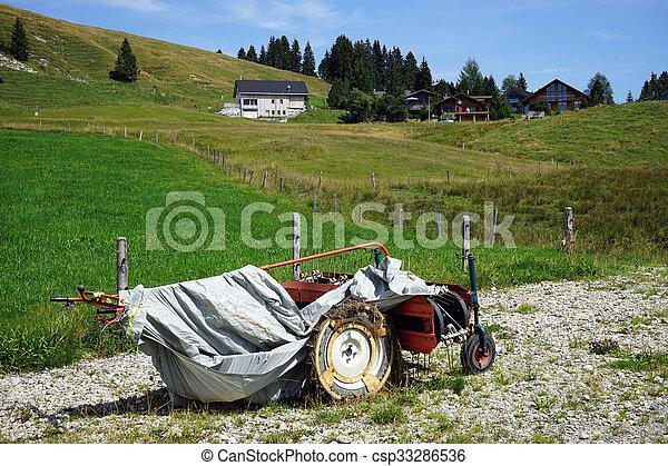 Motor plough - csp33286536