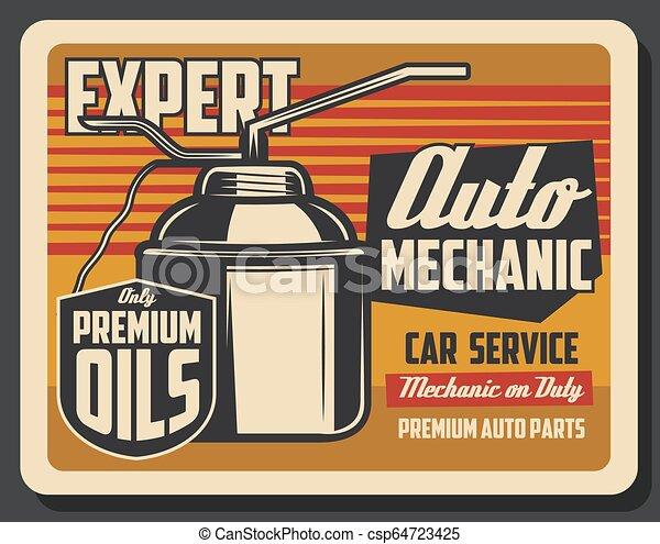Vertidor de aceite de motor, lubricante de motor de coche - csp64723425