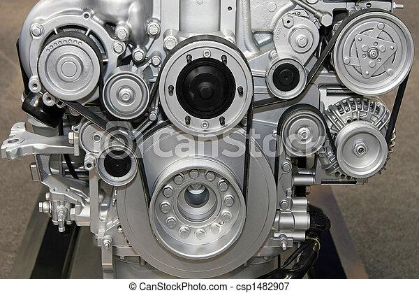motor, sistema, cinto - csp1482907