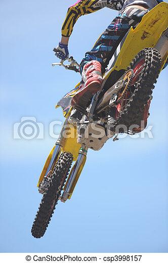 Motorbike Rider - csp3998157