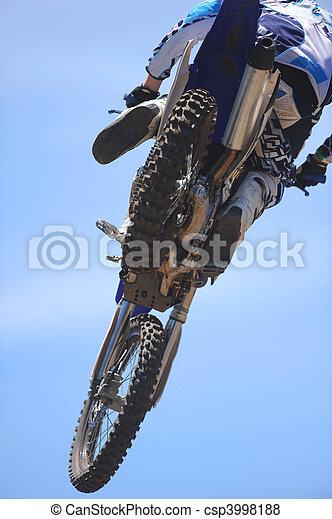 Motorbike Rider - csp3998188