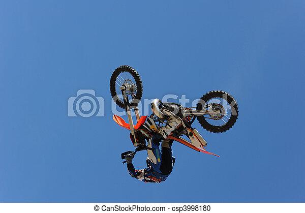 Motorbike Rider - csp3998180