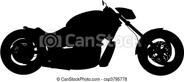 motorbike (vector) - csp3795778