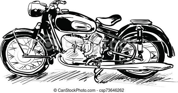 motorcycle - csp73646262