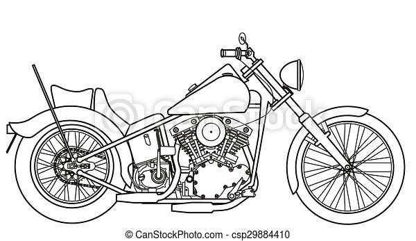 Motorcycle custom - csp29884410