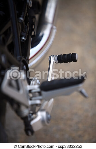 Motorcycle Gear Shifter Color Image Of The Gear Shifter Pedal Of A