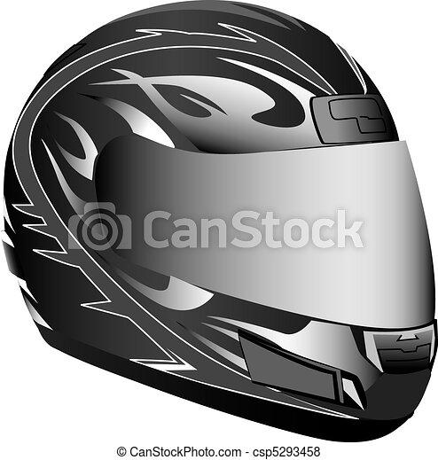 Motorcycle helmet - csp5293458