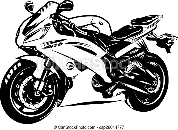 motorcycle rh canstockphoto com vector motorcycle fairings vector motorcycle engine