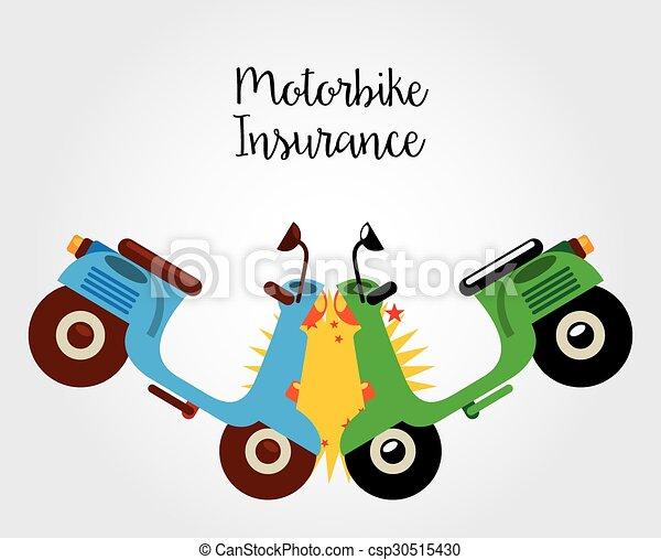 motorcycle insurance - csp30515430