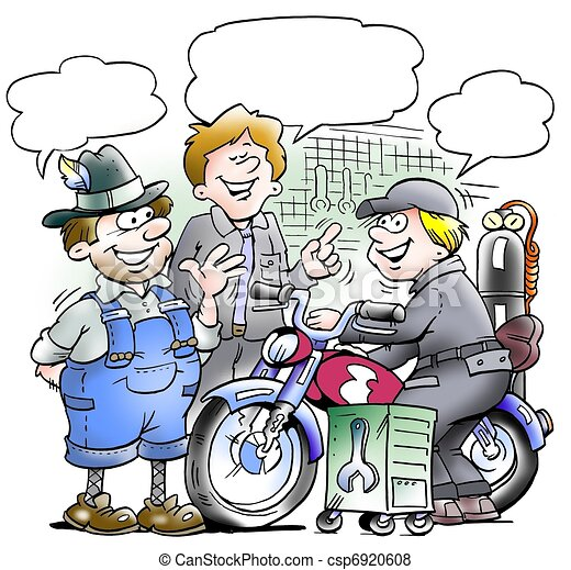 motorcycle mechanics share their experiences csp6920608