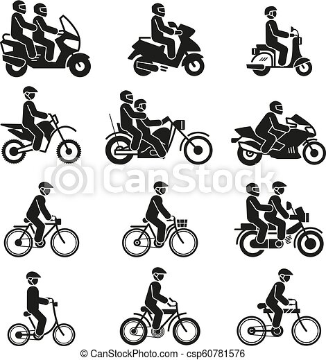 Motor Cyclist Illustrations And Clipart 268 Motor Cyclist Royalty