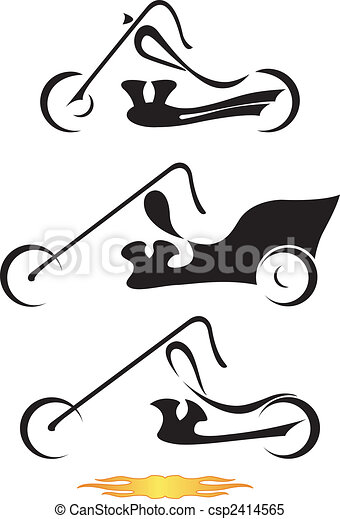 Motorcycles. - csp2414565