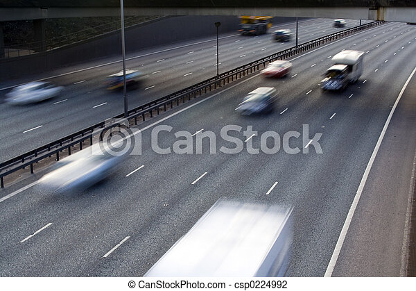 Motorway Traffic - csp0224992