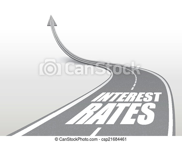 mots, route, taux, autoroute, intérêt - csp21684461