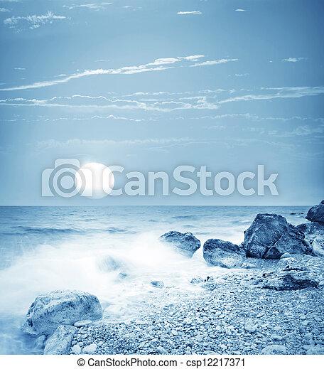 motyw morski - csp12217371