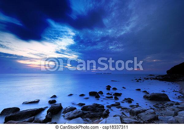 motyw morski - csp18337311
