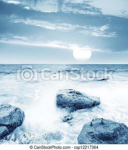 motyw morski - csp12217364