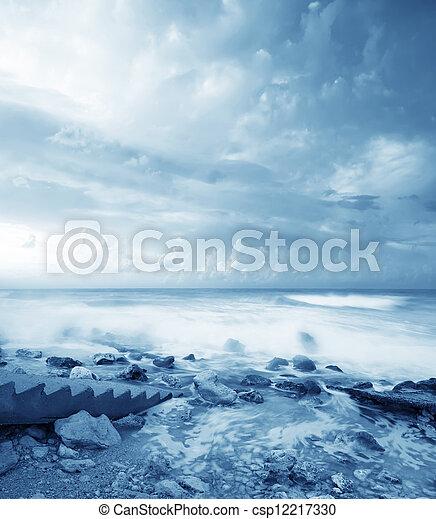 motyw morski - csp12217330