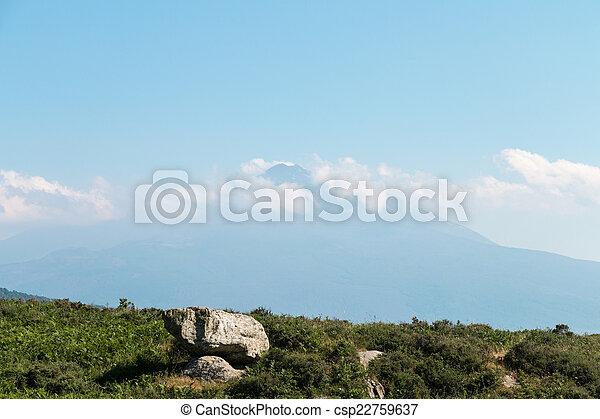 Mount Etna - csp22759637